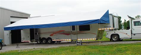 How To Open Trailer Awning by Image Gallery Trailer Awnings