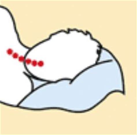 posizione cuscino cervicale cuscino cervicale guanciale cuscini per la cervicale la