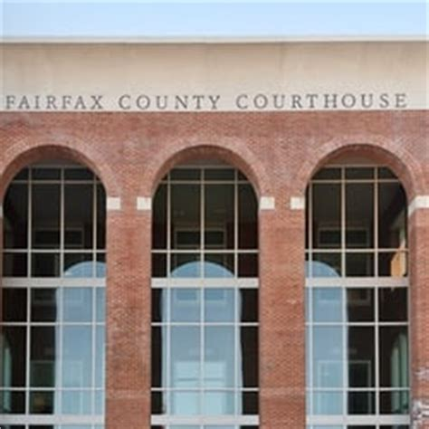Virginia Judiciary Search Fairfax County Fairfax County General District Court Fairfax Va United States The Front Of The