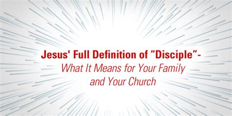 When I Consider How Light Is Spent Meaning by The Vision Room Jesus Definition Of Quot Disciple