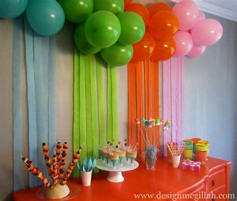 simple balloon decoration ideas at home bday decoration ideas at home simple decorating party and