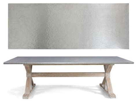 stainless steel dining room table stainless steel table top metal top dining room table