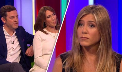 alex wilson in white dress aniston jokes about toys in front of disabled