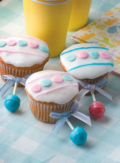 Baby Shower Cupcake Rattles by Baby Rattle Cupcakes