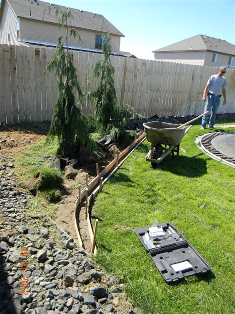 Landscape Edging Diy Diy Landscaping Curb Home Is Where They You