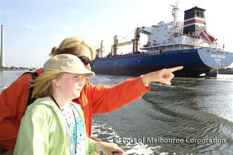 free boats melbourne free boat tours port of melbourne melbourne
