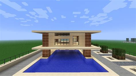 easy to build homes simple modern house minecraft project