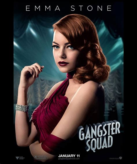 gangster movie wallpaper emma stone in gangster squad movie hd wallpapers