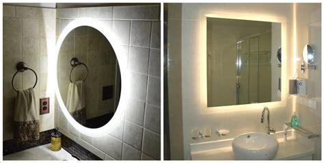 bathroom mirrors with lights in them bathroom mirrors with lights in them view mirrors with