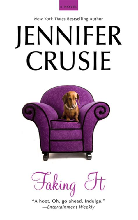 Book Review Faking It By Crusie by Faking It Crusie