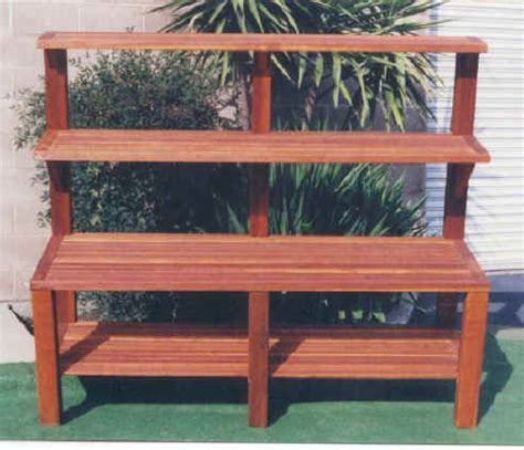 planting bench garden potting table outdoor bench
