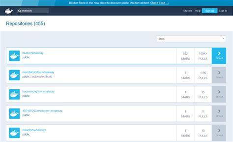 docker hub tutorial docker tutorial installation and first steps 1 1