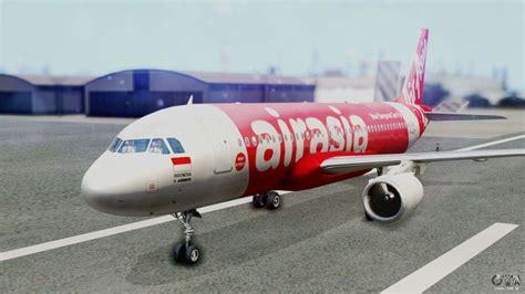 air asia airbus air asia airbus a320 pk azf para gta san andreas