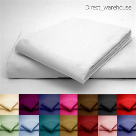 flat bed pillow polycotton percale flat bed sheet in single double king