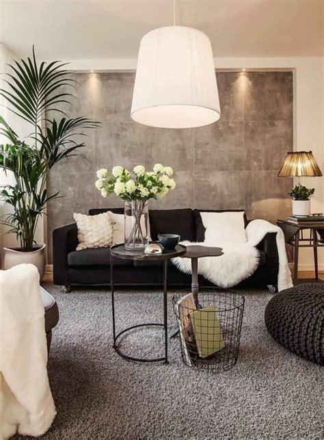 moderne wohnzimmer wandgestaltung quelle couleur pour un salon 80 id 233 es en photos