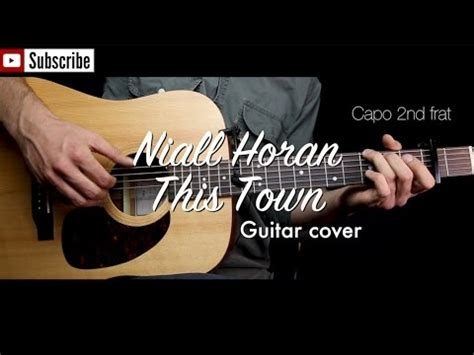 guitar tutorial cover this town niall horan guitar cover guitar lesson