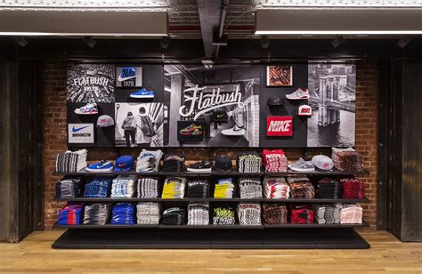 Nike By A A Store nostrand and flatbush nike opens nyc community