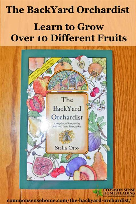 backyard orchardist the backyard orchardist learn to grow over 10 different