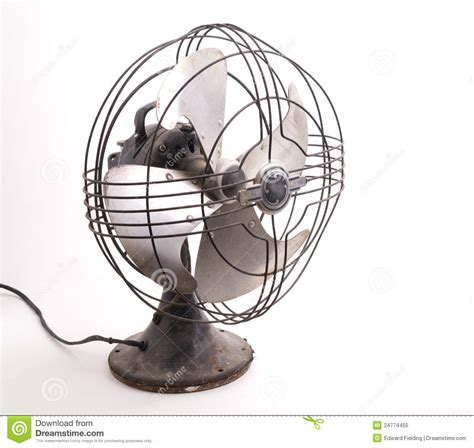 old fashioned electric fan vintage electric fan stock image image of appliance