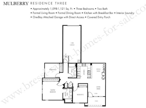 Mulberry Floor Plan by Bressi Ranch Homes For Sale Mulberry Floor Plans Bressi