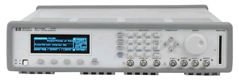 pattern generator keysight keysight agilent hp 81110a pulse pattern generator
