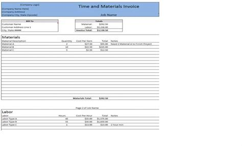 minimize your billing errors with time and materials