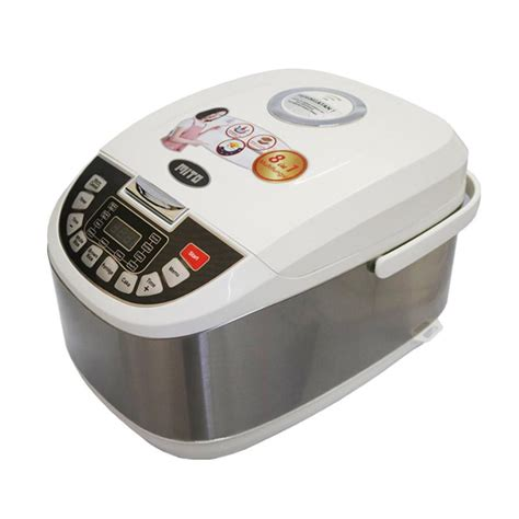 Rice Cooker Anti Lengket jual mito r5 8in1 digital rice cooker silver 2 l