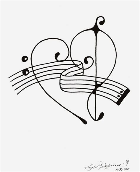 treble bass clef tattoo designs bass treble clef by minoritsuki on deviantart