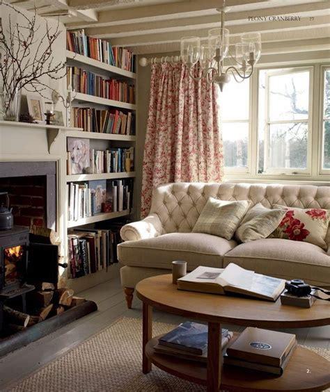 442 Best Cottage Living Rooms Images On Pinterest Cottage Family Room