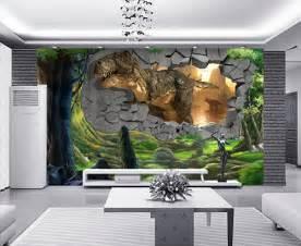 Dinosaurs Murals Walls tapisserie num 233 rique papier peint 3d poste g 233 ant mural