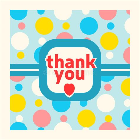 thank you card template free vector thank you card design template stock vector image 43344851