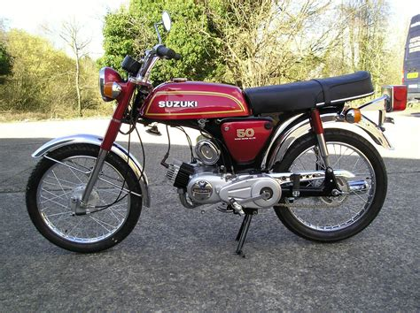 Suzuki Ap Restored Suzuki Ap50 1976 Photographs At Classic Bikes