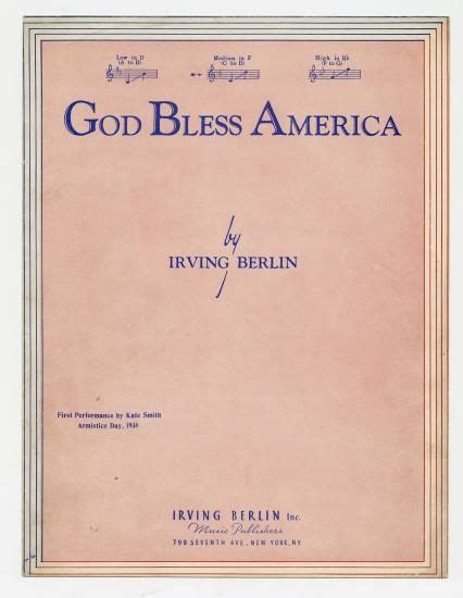 printable lyrics god bless america 15 best patriotic sheet music images on pinterest piano