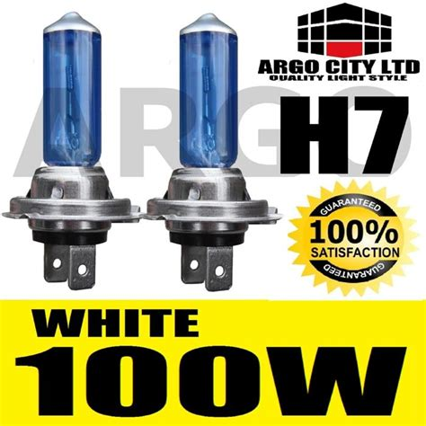 lada h7 100w h7 100w xenon bright white bulbs 8500k x 2 pair ebay