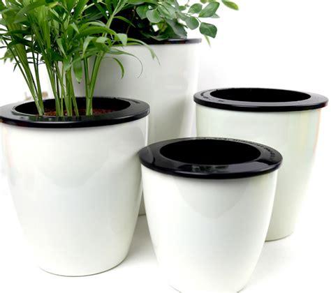 mkono pcs  watering pot automatic planter plant
