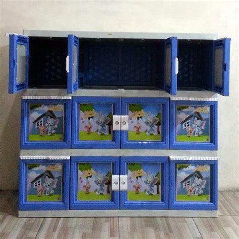 Lemari Plastik 12 Pintu lemari plastik akako jumbo 12 pintu warna biru