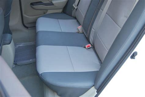 back seat covers for honda civic honda civic sedan 2012 leather like custom seat cover ebay