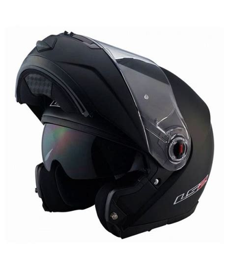 Qyu Up Buy 2 Get 1 Size S ls2 helmet ff 386 flip up matte black size 58cms