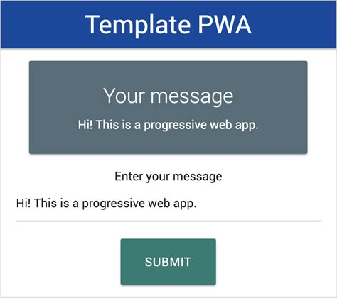 How You Can Make A Progressive Web App In An Hour Freecodec Progressive Web App Template