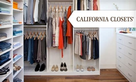 Closet Systems California California Closets In Cincinnati Ohio Groupon
