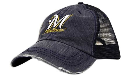 Brewers Hat Giveaway - august 27 2016 milwaukee brewers trucker hat