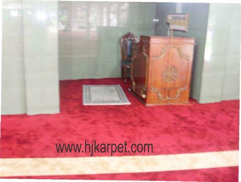 Karpet Acrylic masjid al ikhlaas baranang siang karpet masjid acrylic