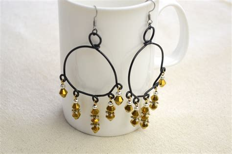 bead and wire jewelry ideas dangling bead and wire jewelry earrings pictures photos