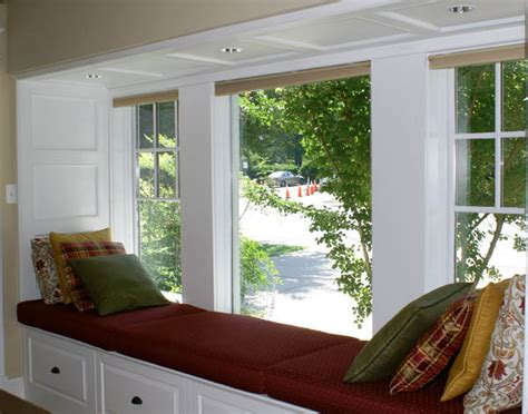 enhance your windows with custom window sill seats ideas