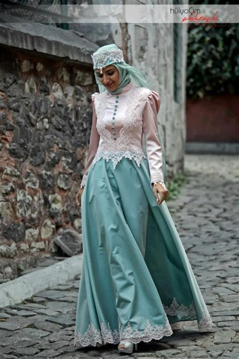 Dress Muslim Catrine Green Byk Warna the collection of dress styles with hijabiworld