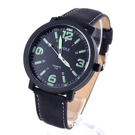 yazole band wristwatch luminous large