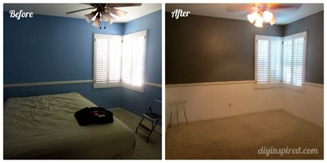 before painting a room guest room paint makeover diy inspired
