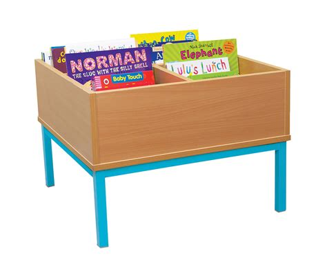 book storage kinderbox with legs classroom book storage uk made
