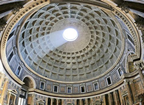 cupola pantheon how has architecture influenced modern architecture