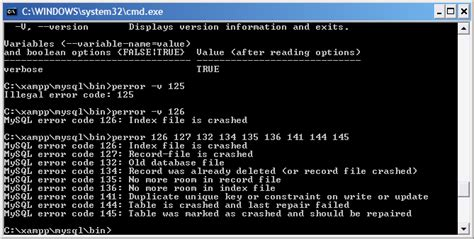mysql repair table how to repair tables in mysql